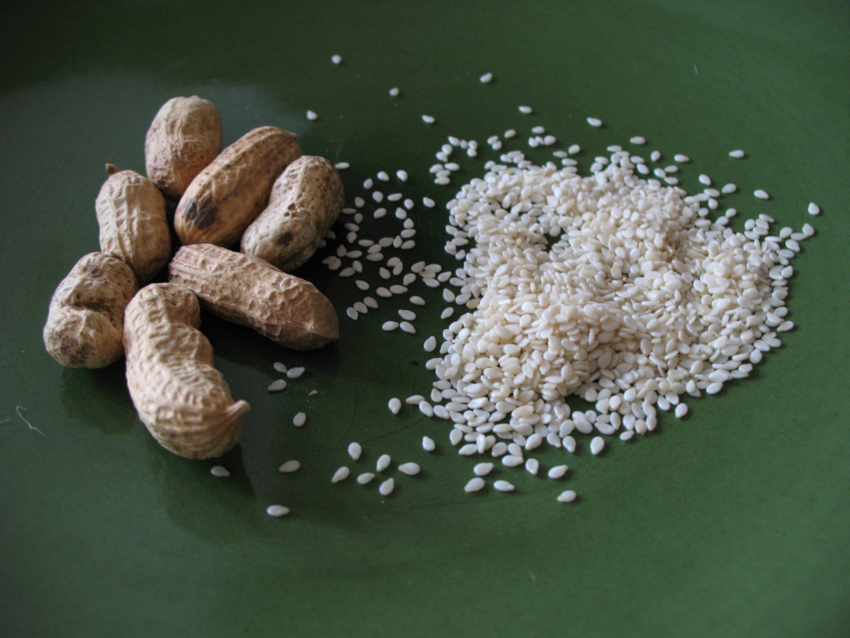 Seeds, Nuts, and Fruits Used in Asian Cooking