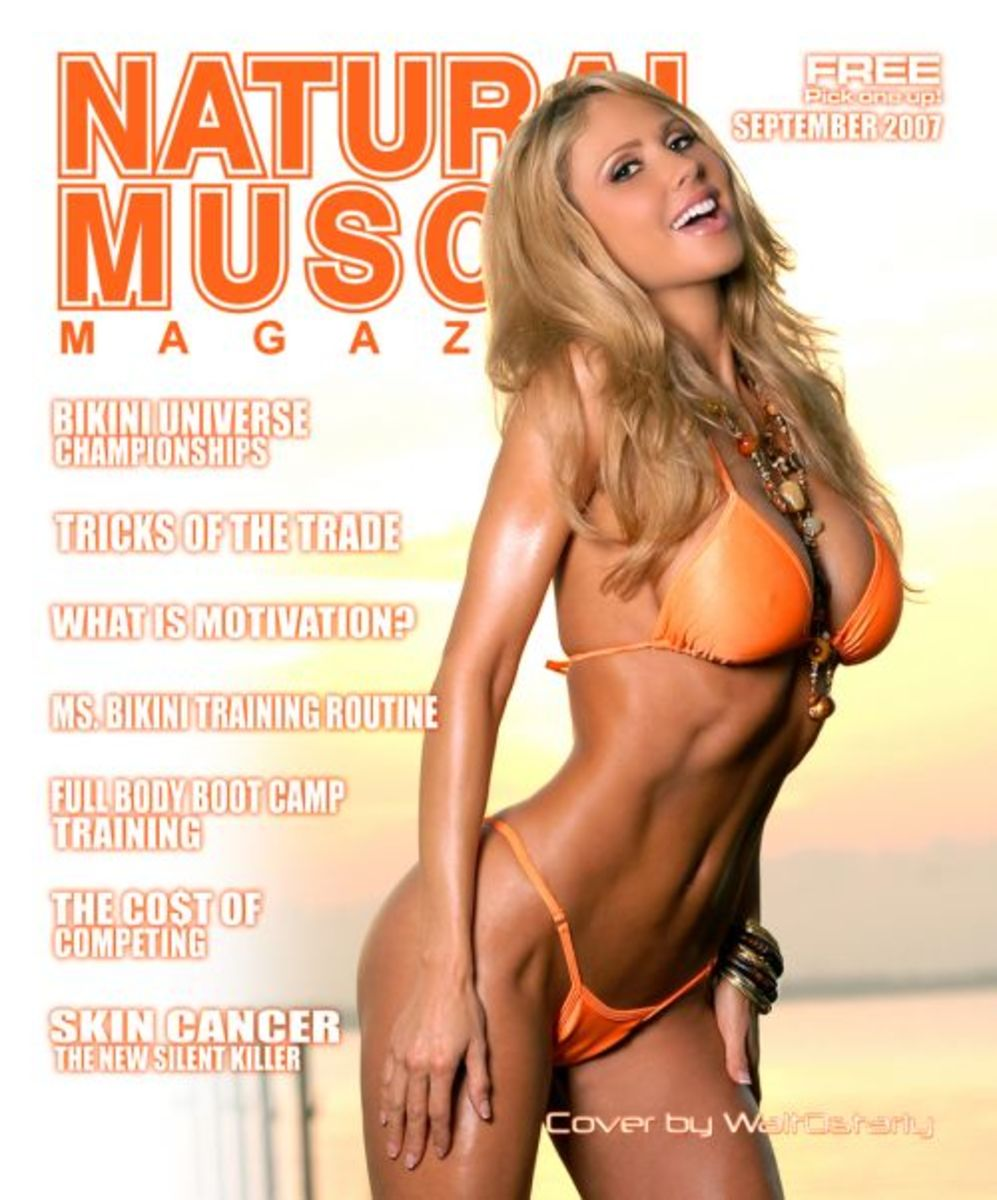 Top Female Fitness Models - Marzia Prince