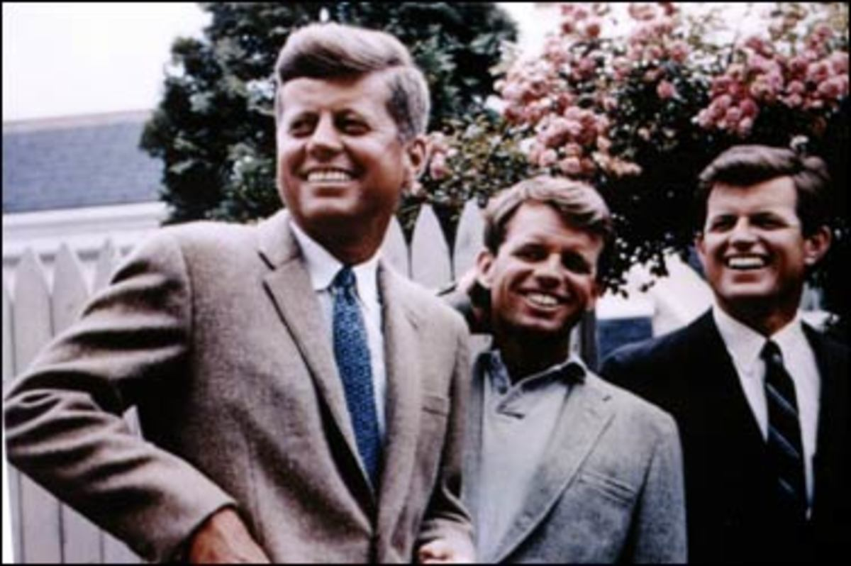 The Kennedy Brothers: John, Bobby, and Ted