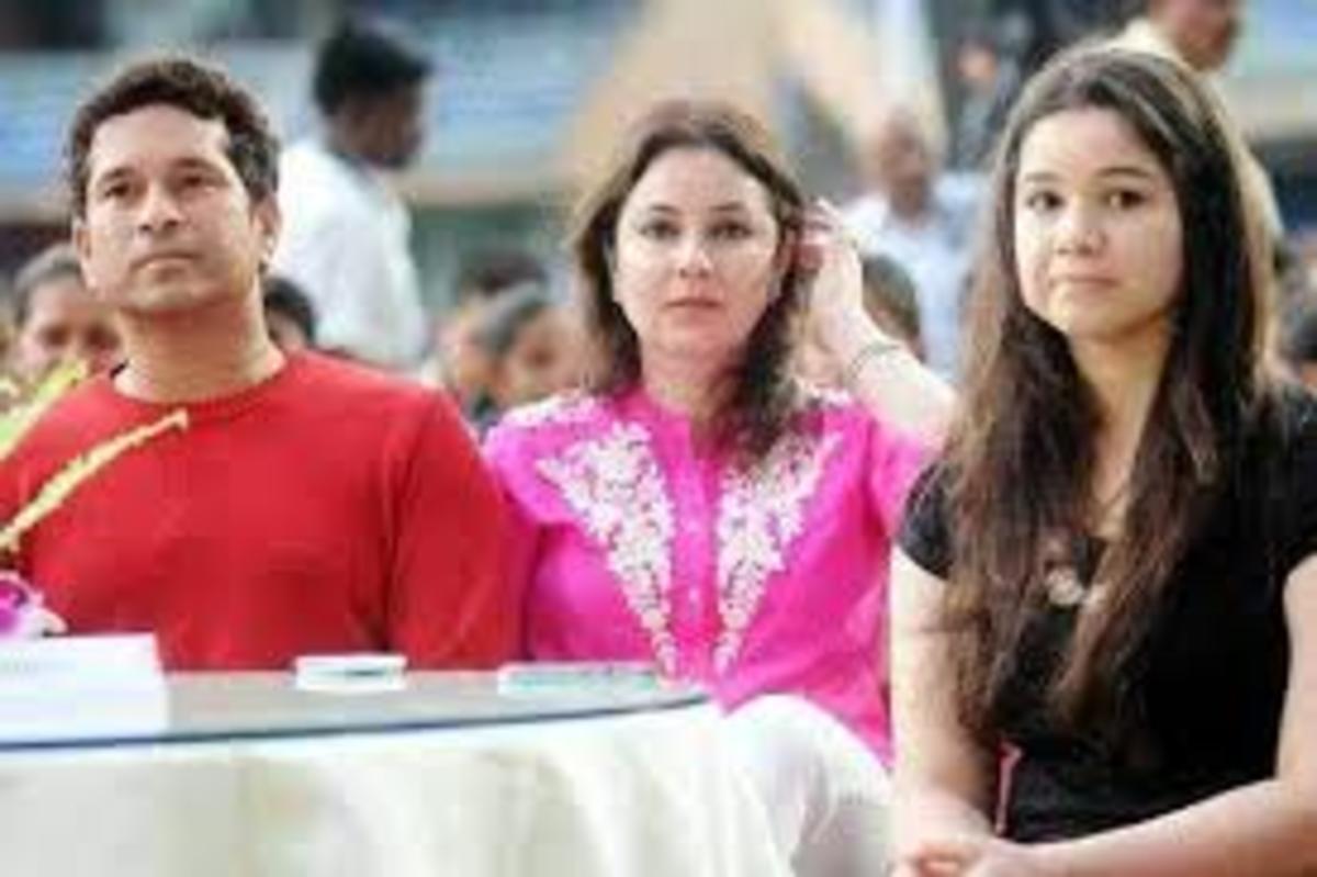 #sachin's family