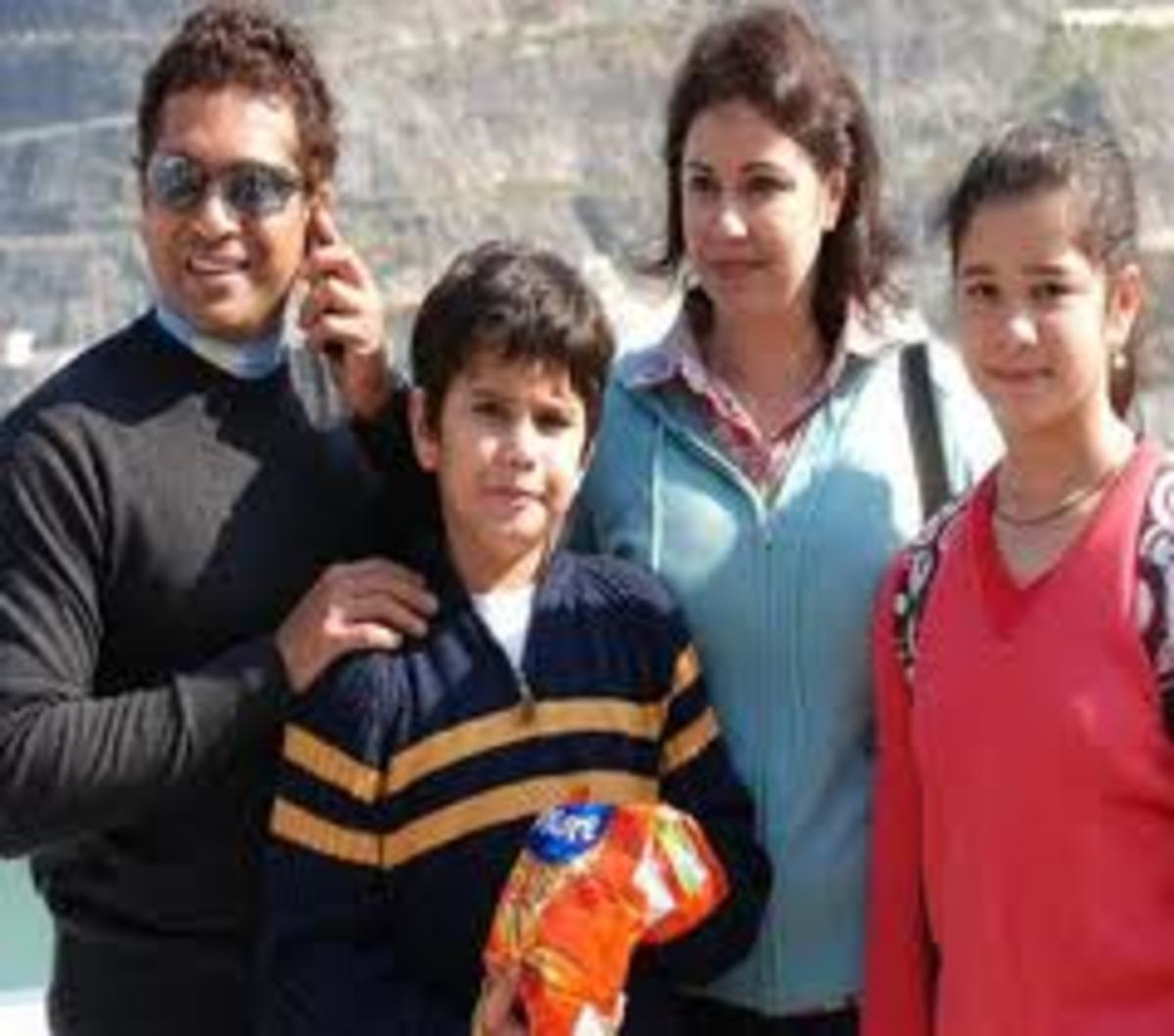 sachin's family