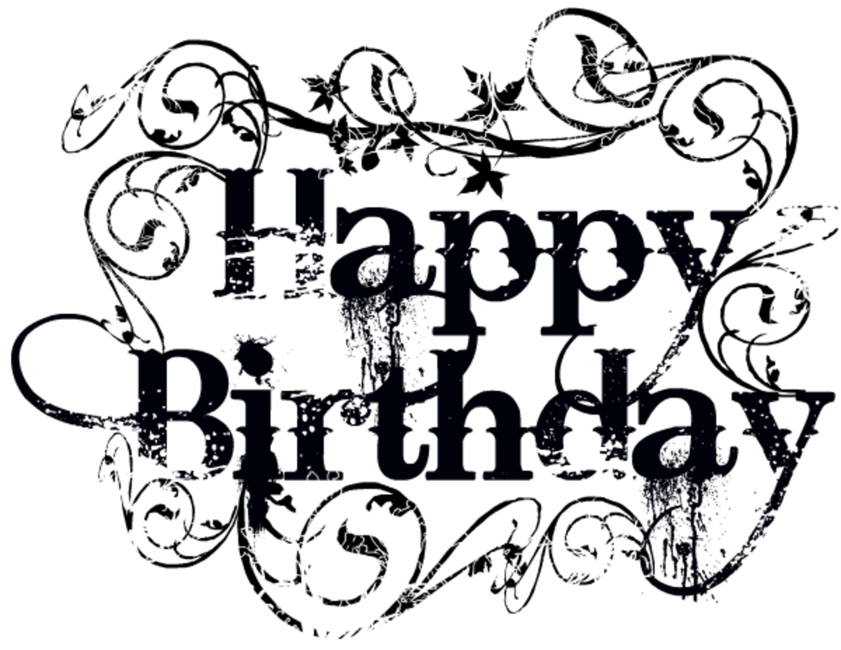 Tattoo happy birthday clip art