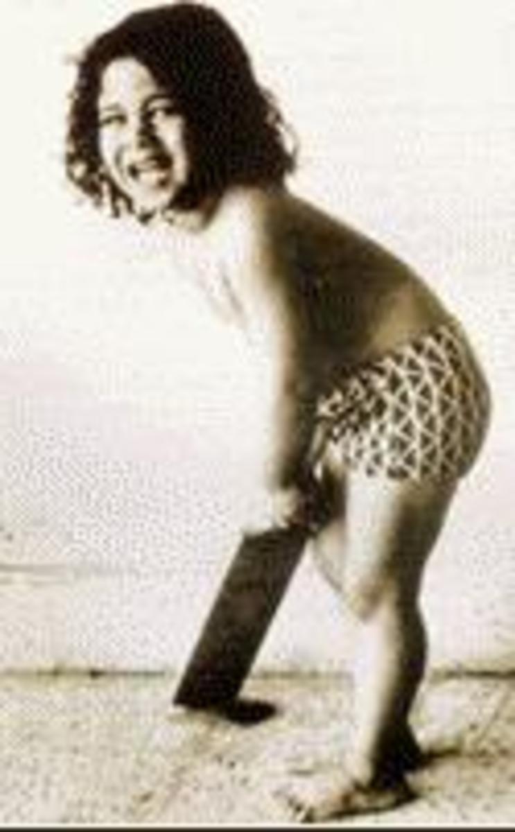 curly-haired baby, Sachin Ramesh Tendulkar