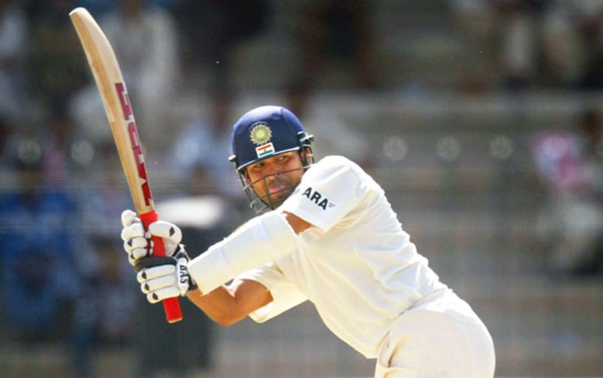 Tendulkar --batting superstar