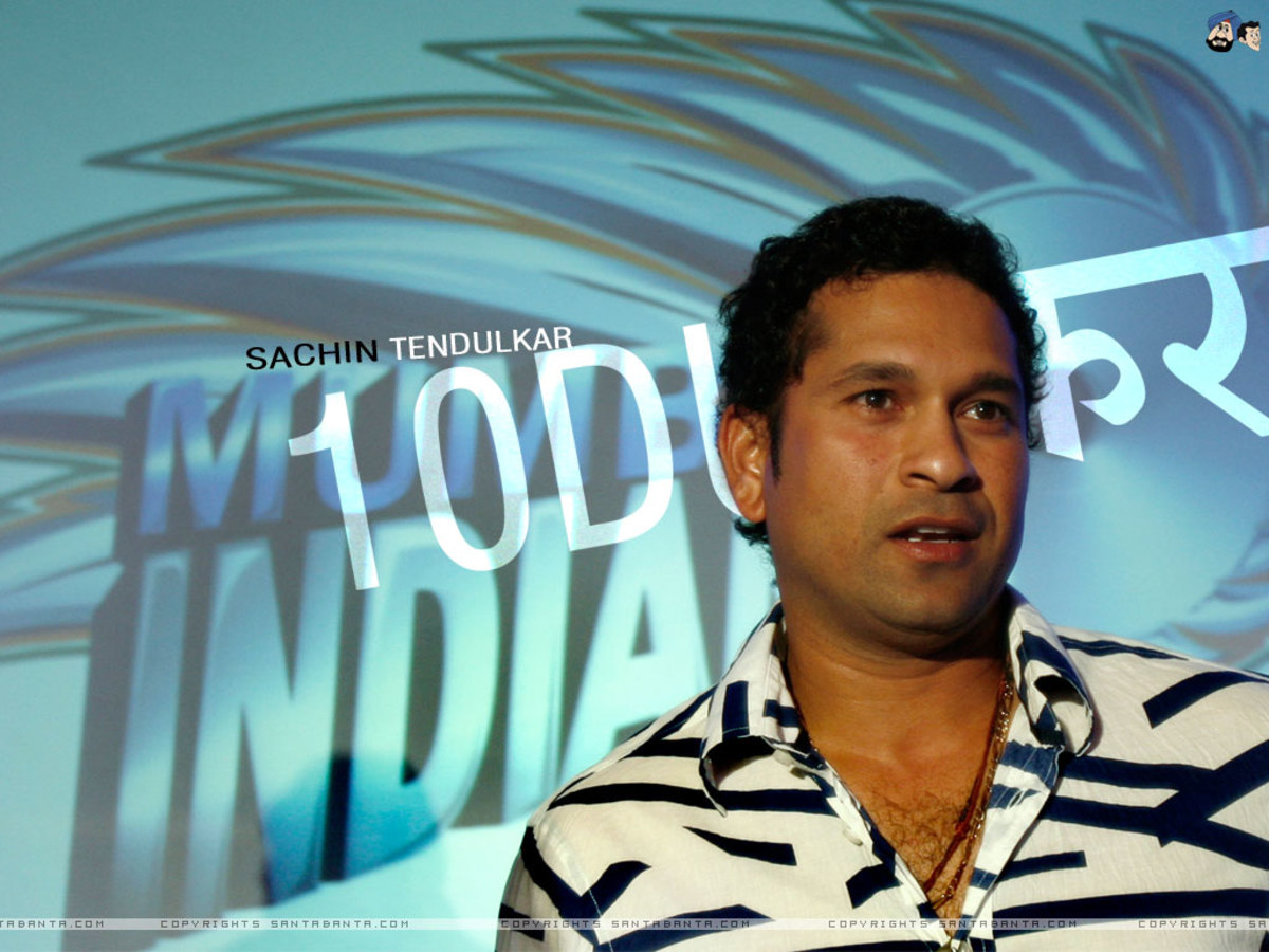 Tendulkar -- the  genius