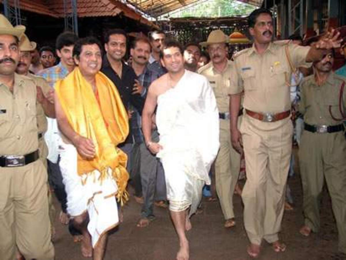 Sachin-- a firm believer in GOD