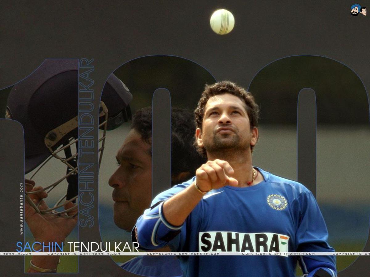 the bowler in Tendulkar