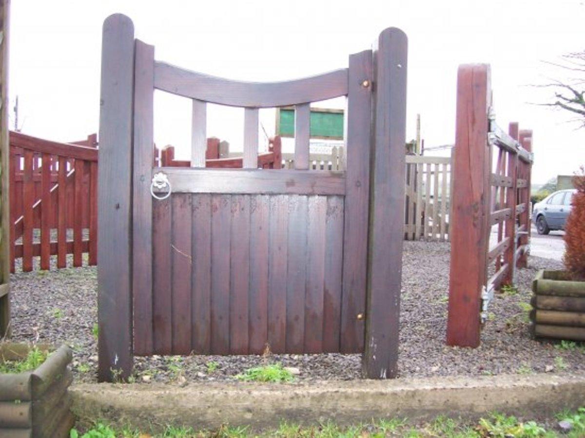 Wooden gates - Single wooden gates - Newent gate