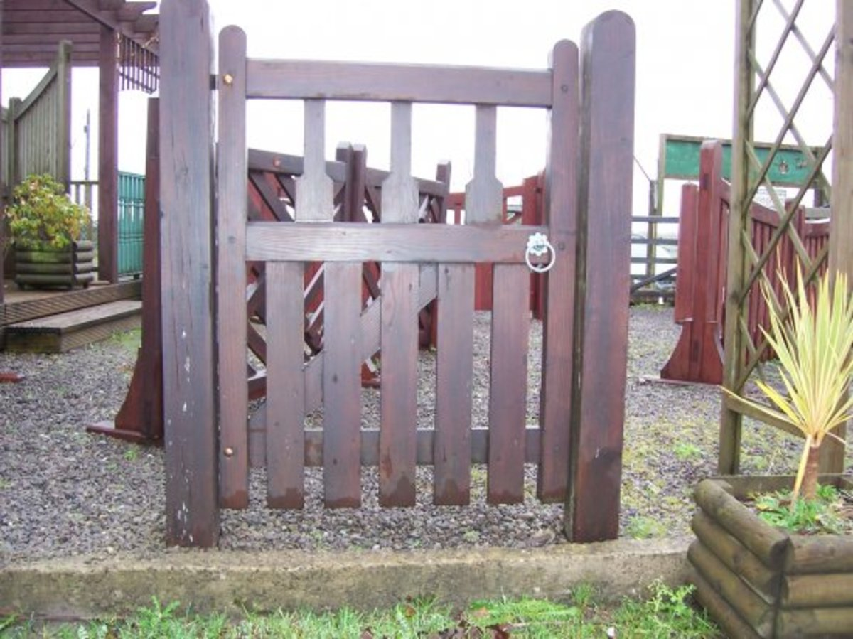 Wooden gates - Single wooden gates - Elton gate