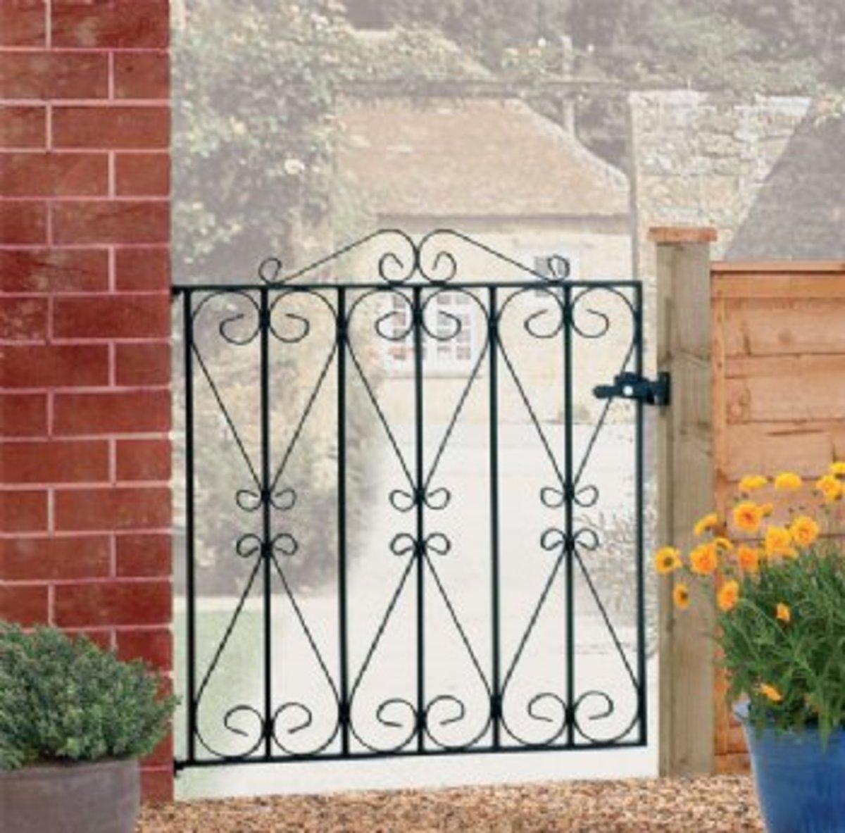 Wrought Iron gates - Single iron gates - Regent gate