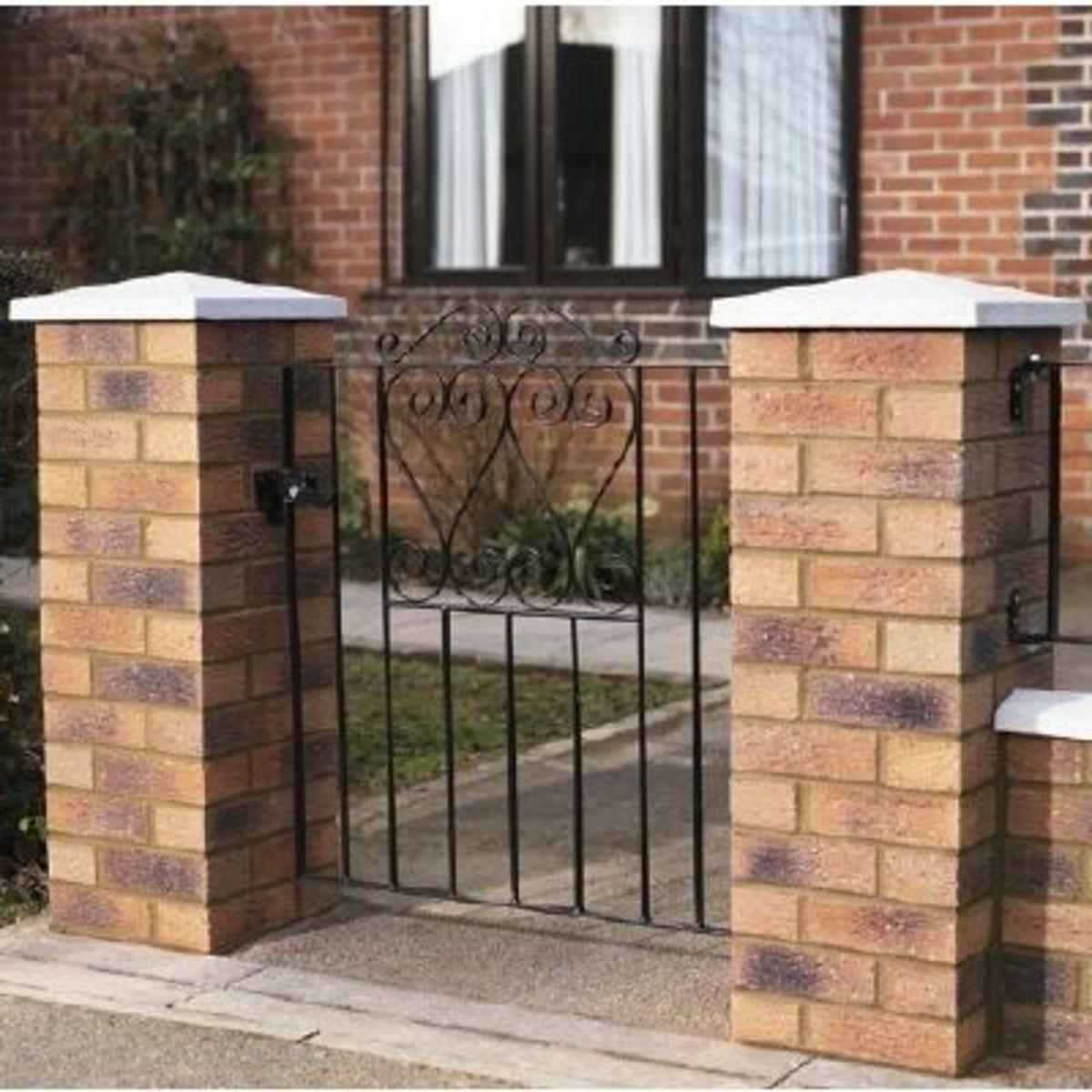 Wrought Iron gates - Single iron gates - Chelsea gate