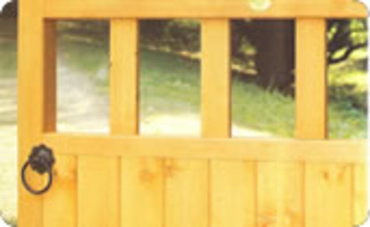Wooden gates - Single wooden gates - Gloucester gate