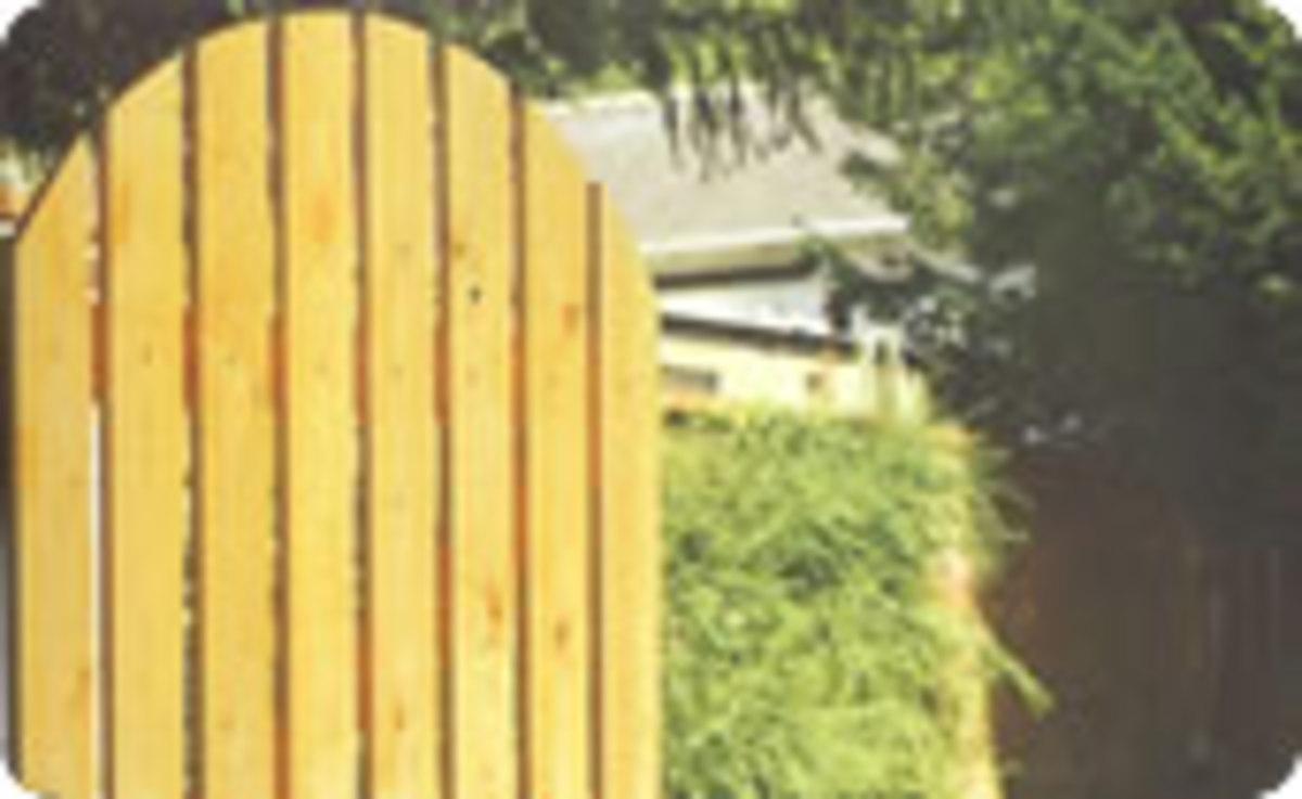 Wooden gates - Single wooden gates - Dorset gate