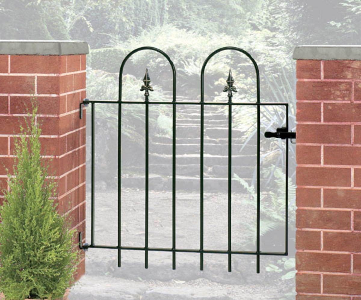Wrought Iron gates - Single iron gates - Village gate
