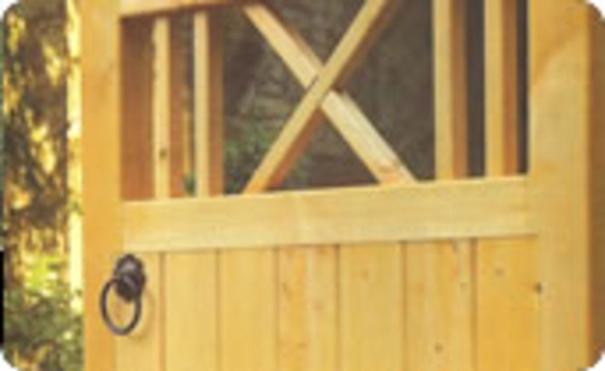 Wooden gates - Single wooden gates - Buxton gate