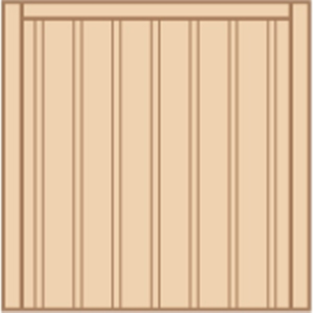 Wooden gates - Single wooden gates - Dalby gate