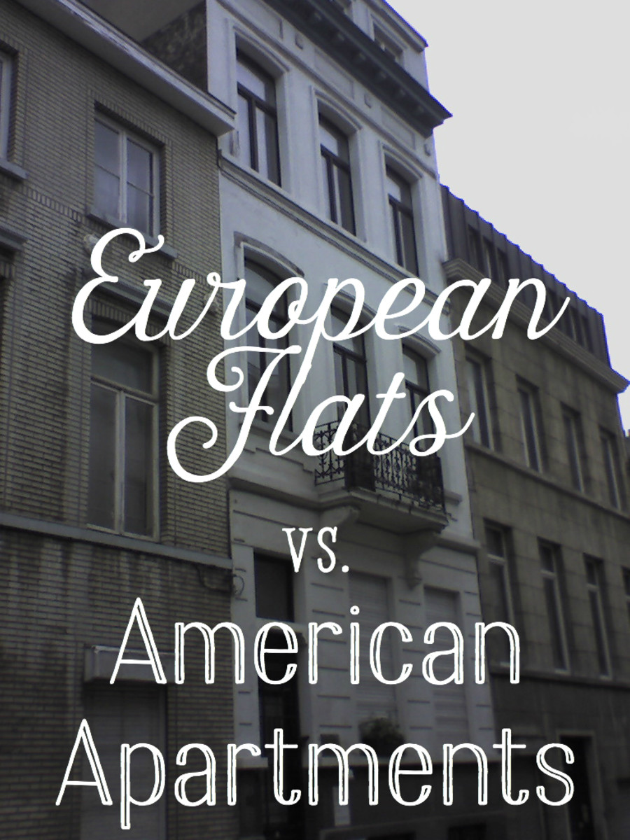 Differences Between European Flats And American Apartments