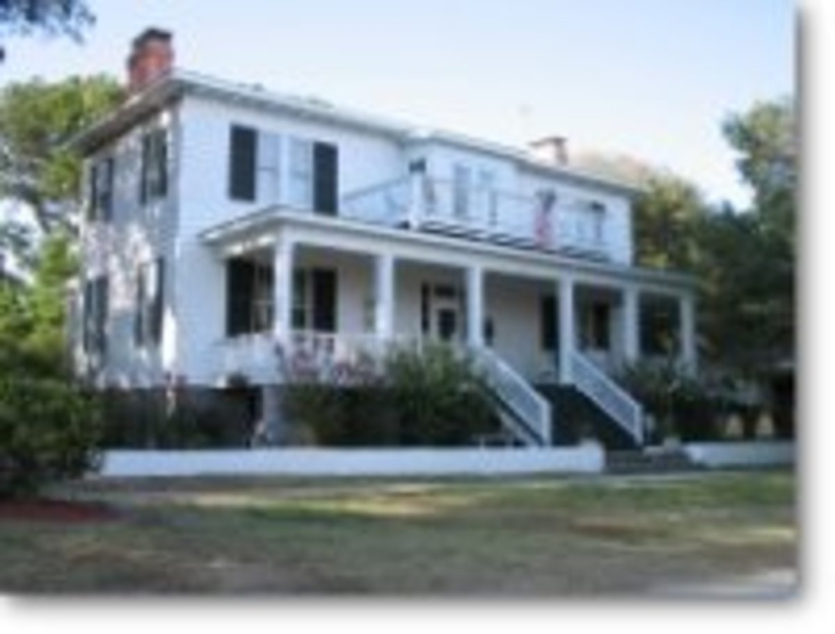 Another Of North Carolina's Haunted Houses.