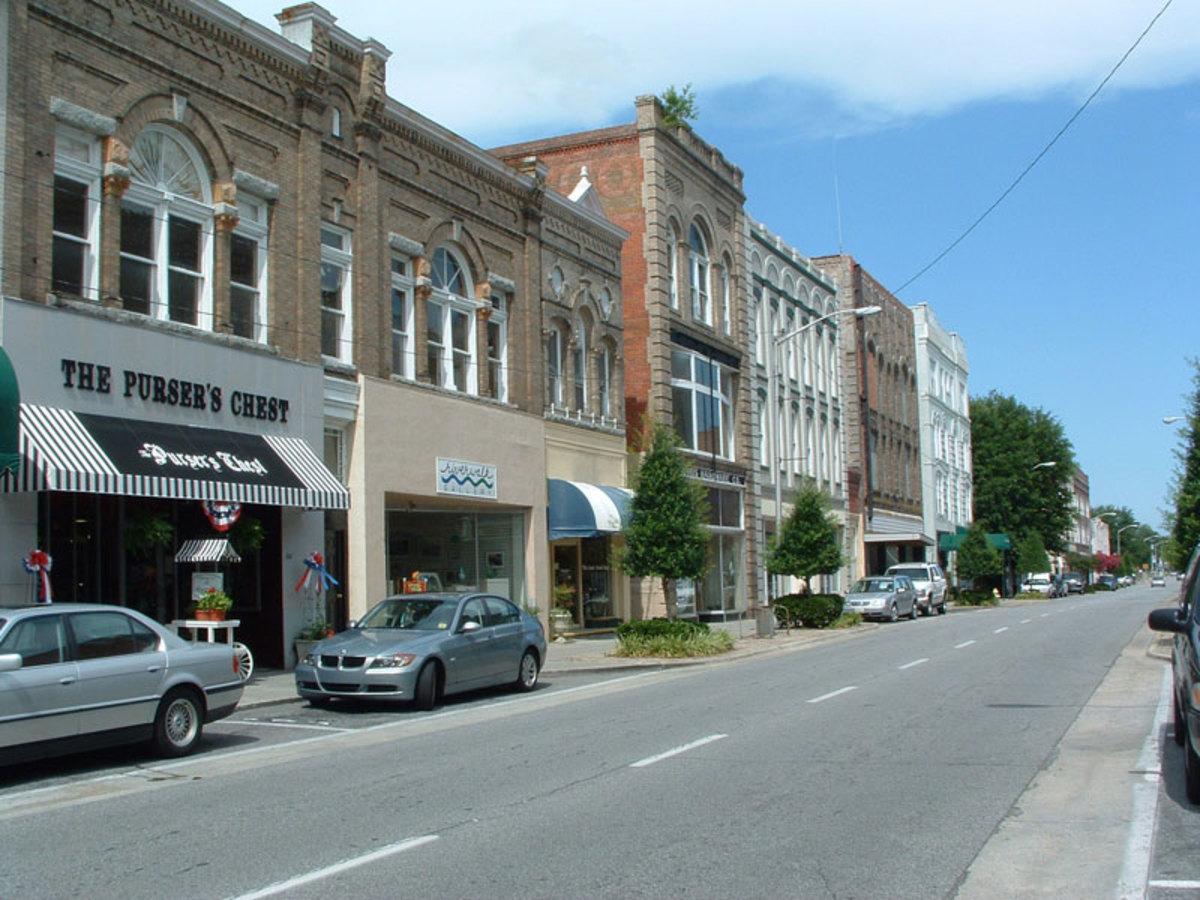 Downtown Washington North Carolina