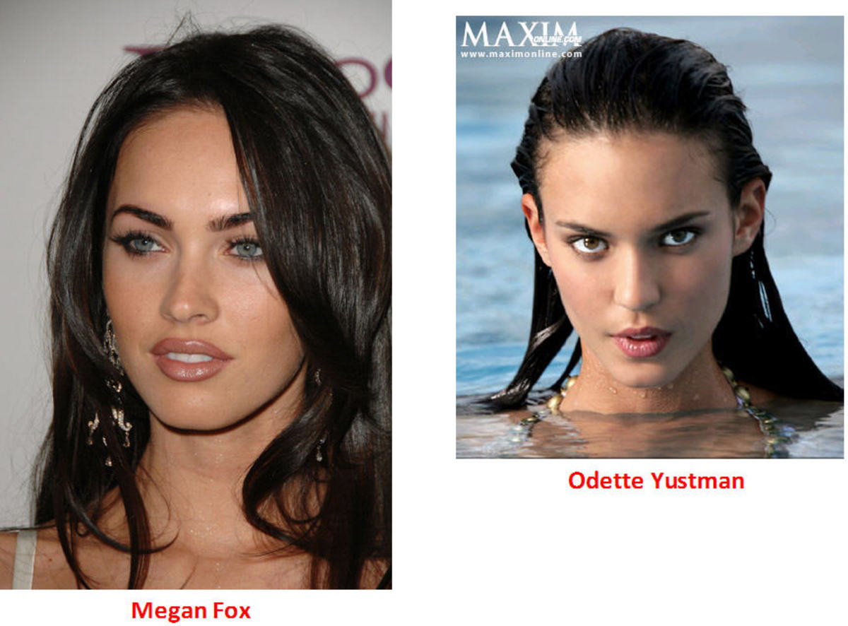 Odette Yustman vs Megan Fox with Pictures