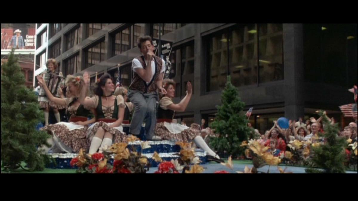 Singing in the Von Steuben Parade