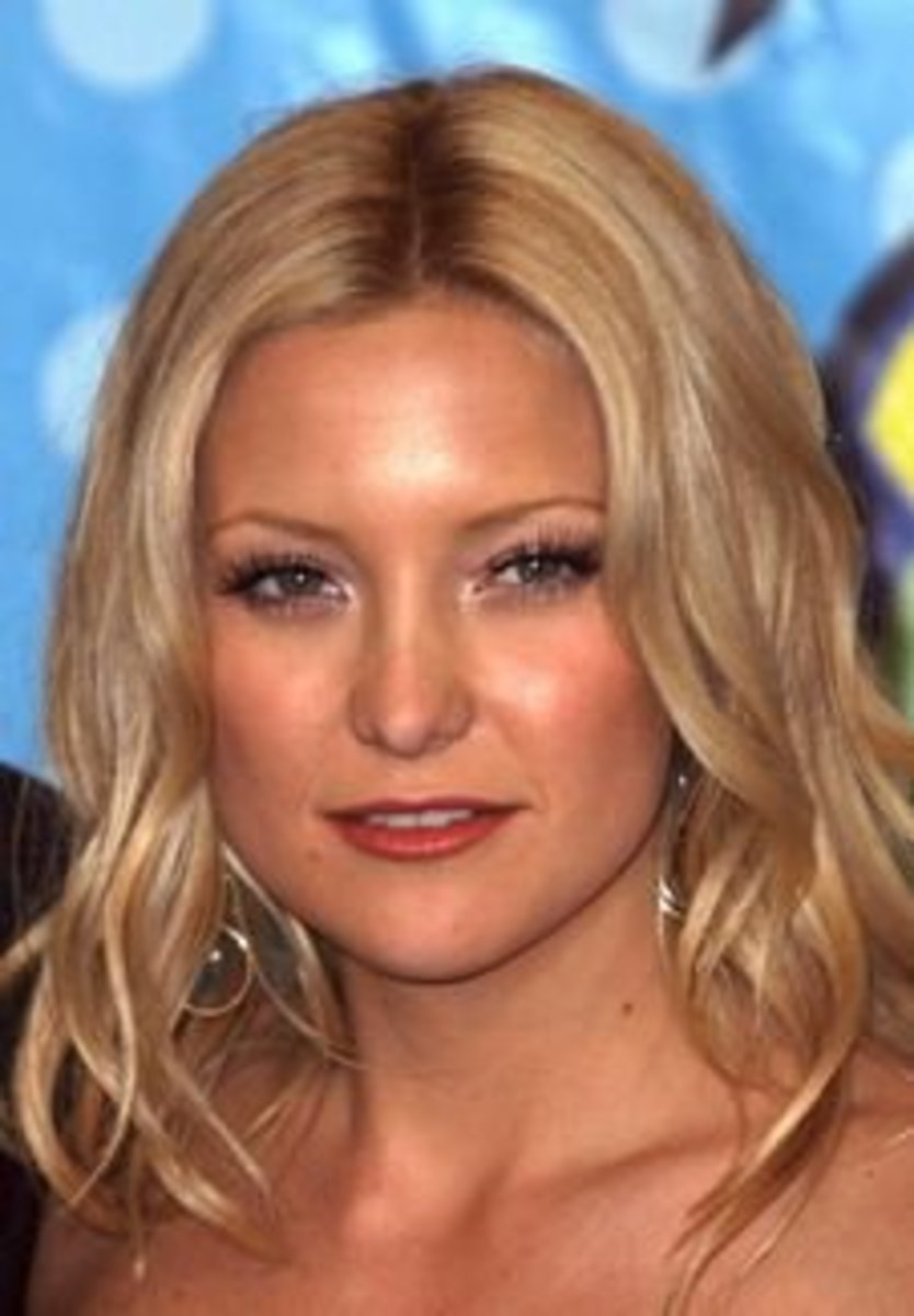 gorgeous hairstyle of kate hudson