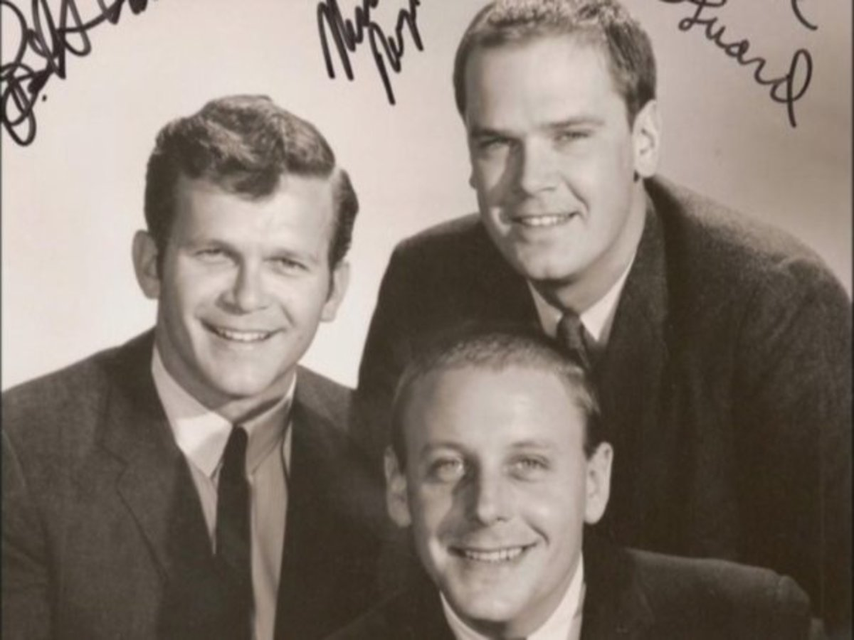 Nick,, Bob, Dave: The original Kingston Trio