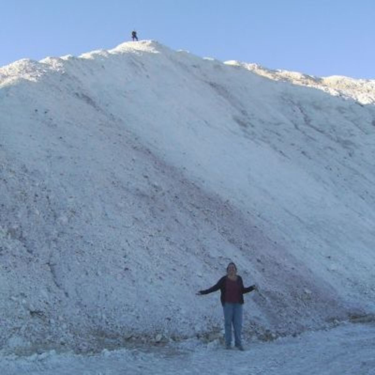 Big Pile of Diatomaceous Earth