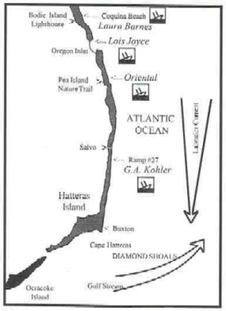 Ship wreck Cape Hatteras