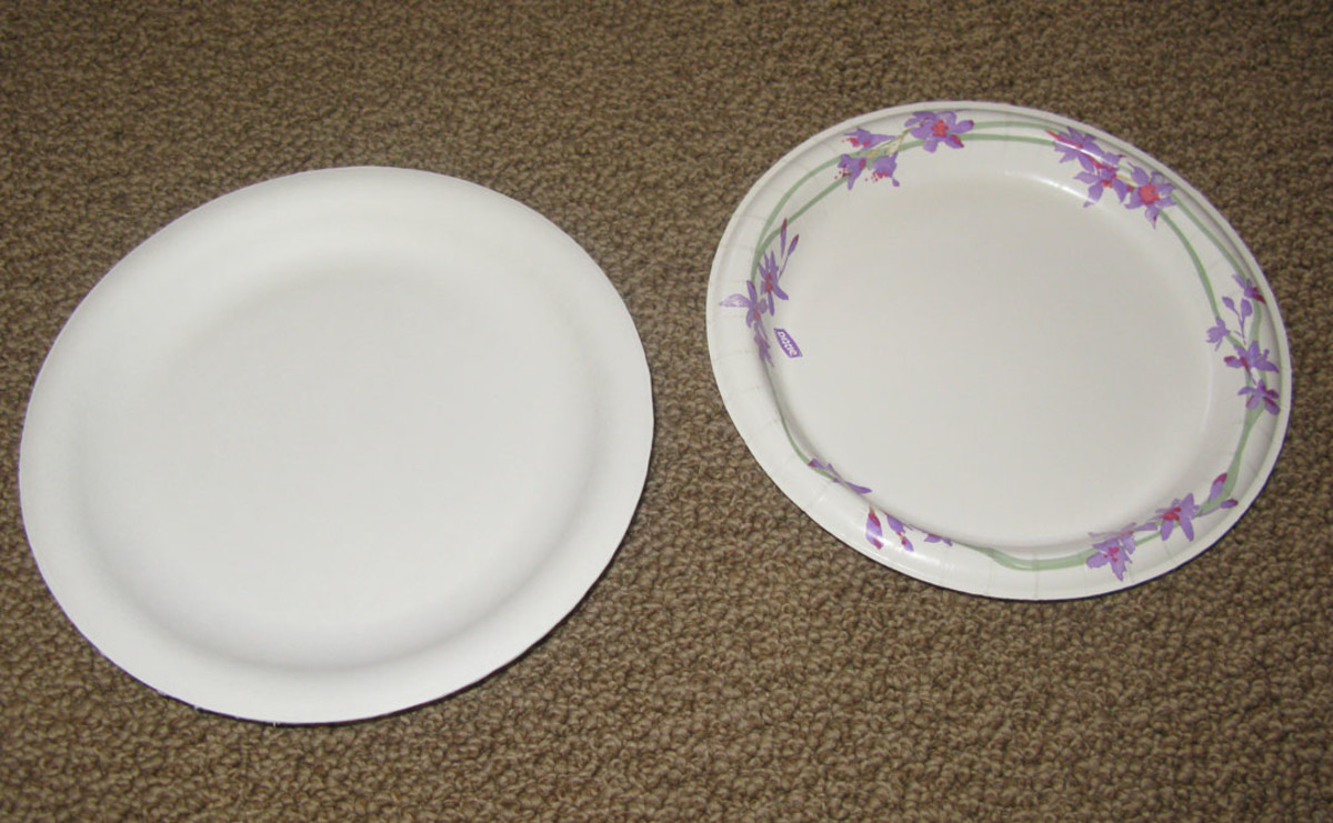 Two paper plates: all you need.