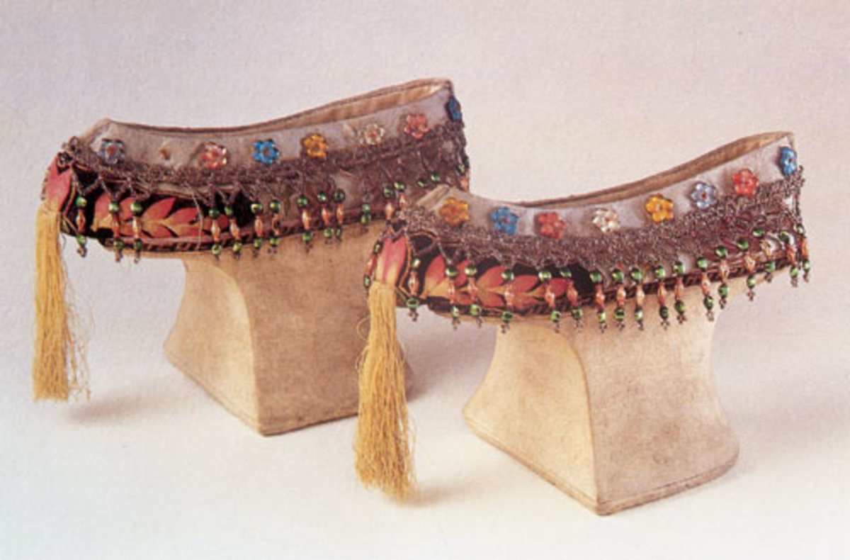 The Empress Dowager Cixi's high heel shoes