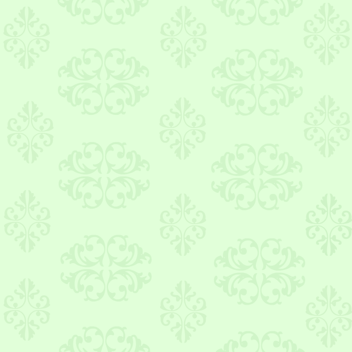Free scrapbooking supplies: Scrollwork on a green background