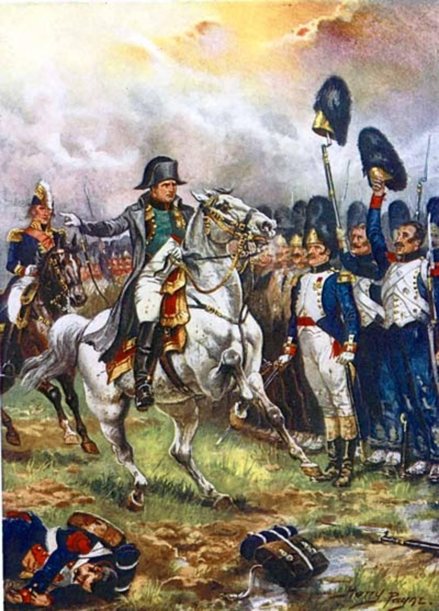 Napoleon with Marengo