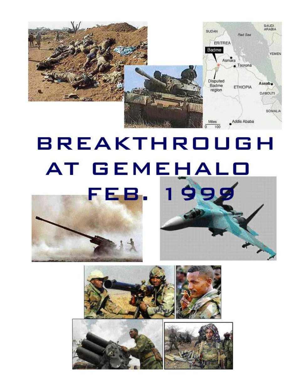 The War between Eritrea and Ethiopia: Badme, 1999