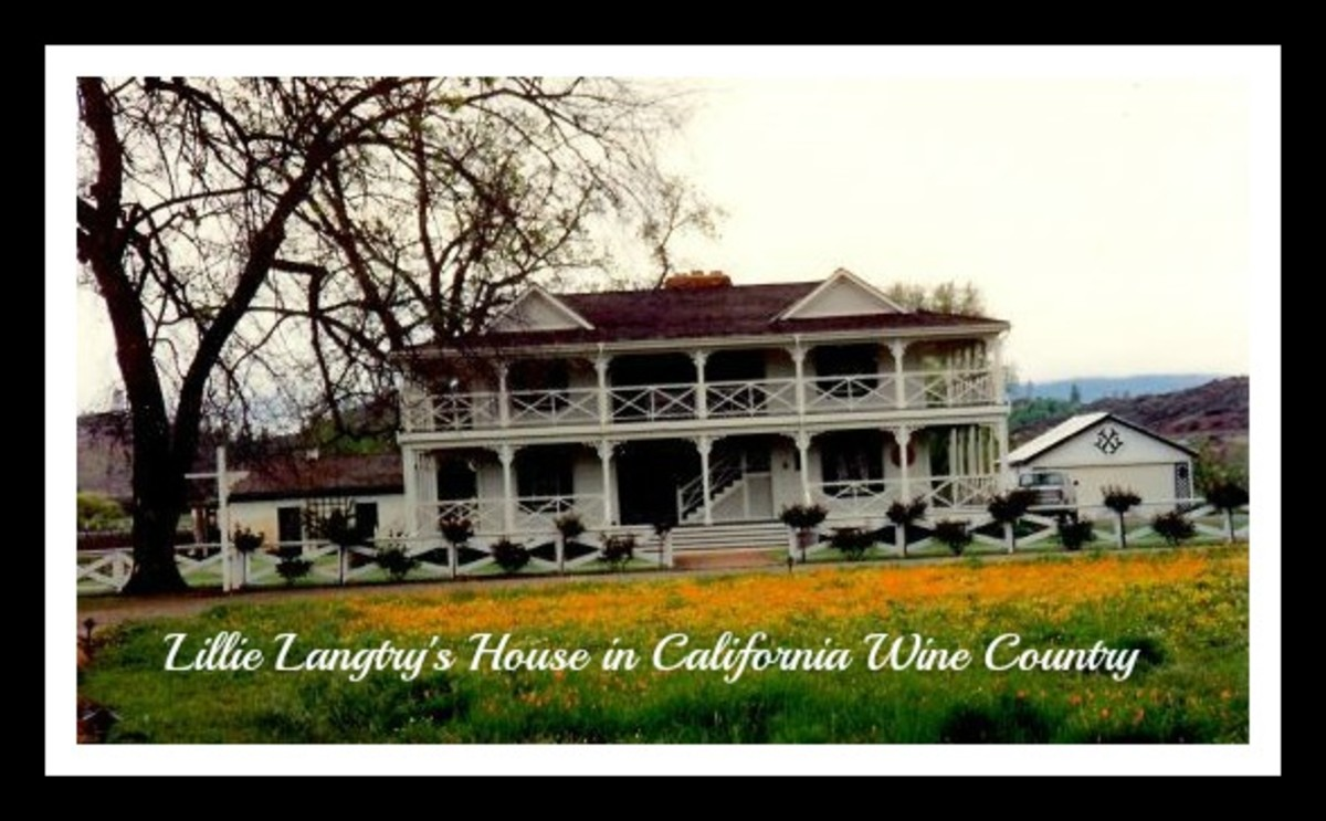 Spending the Night in Lillie Langtry's House at Guenoc Winery in California
