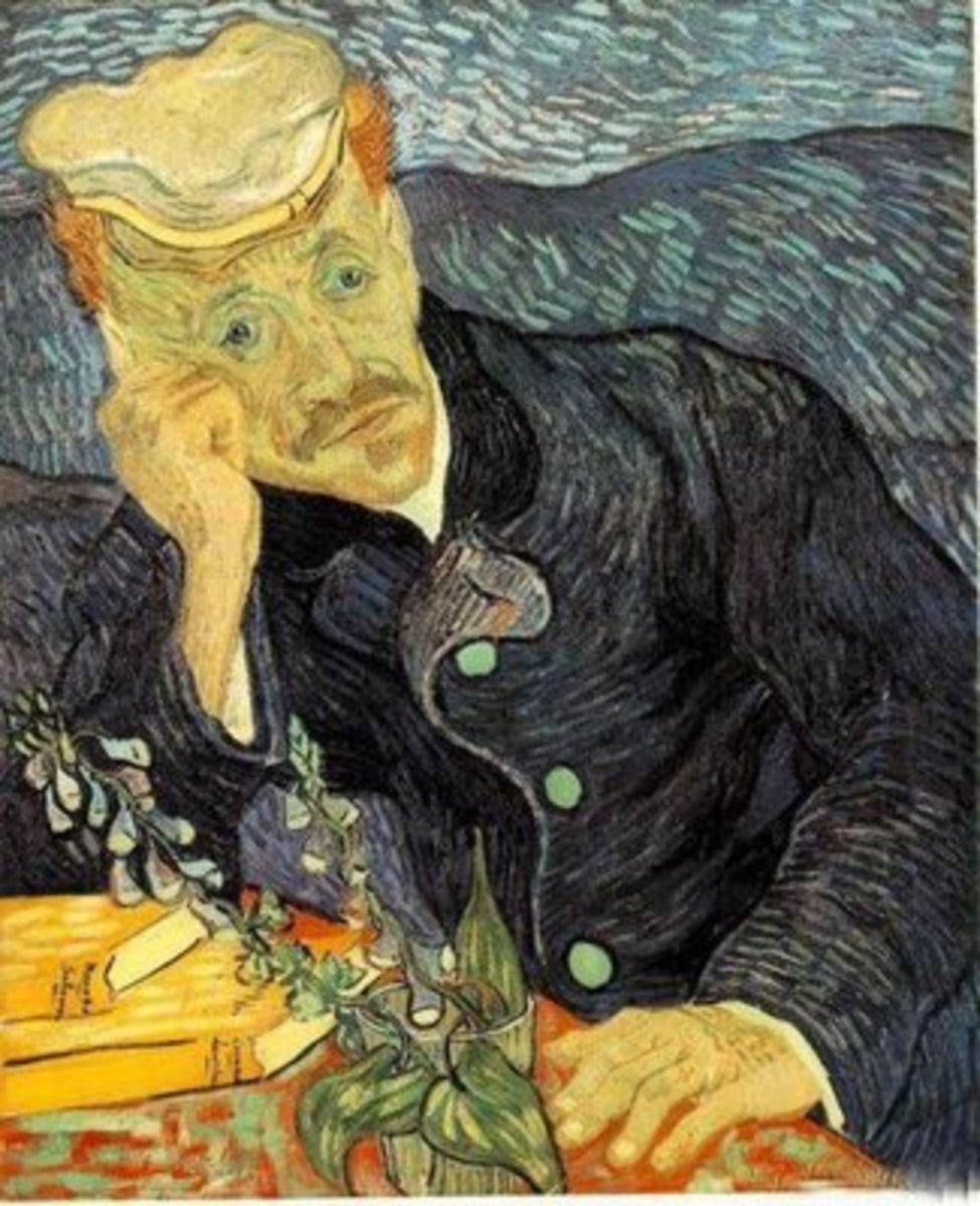 8. Vincent van Gogh - Portrait du Dr Gachet - $82,500,000