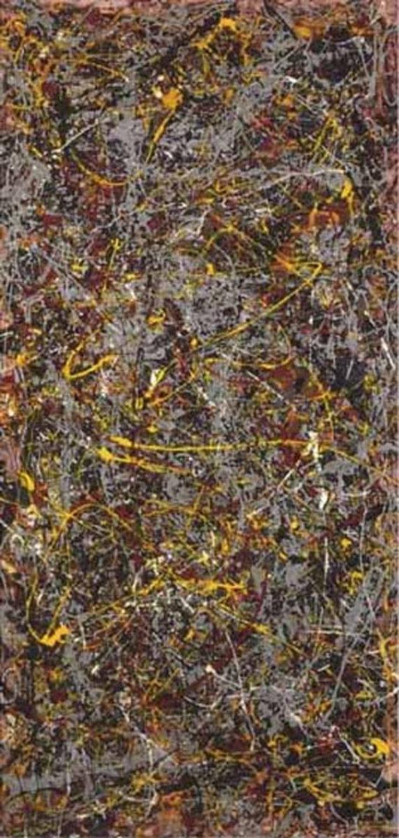 1. Jackson Pollock - No5 1948 - $140,000,000