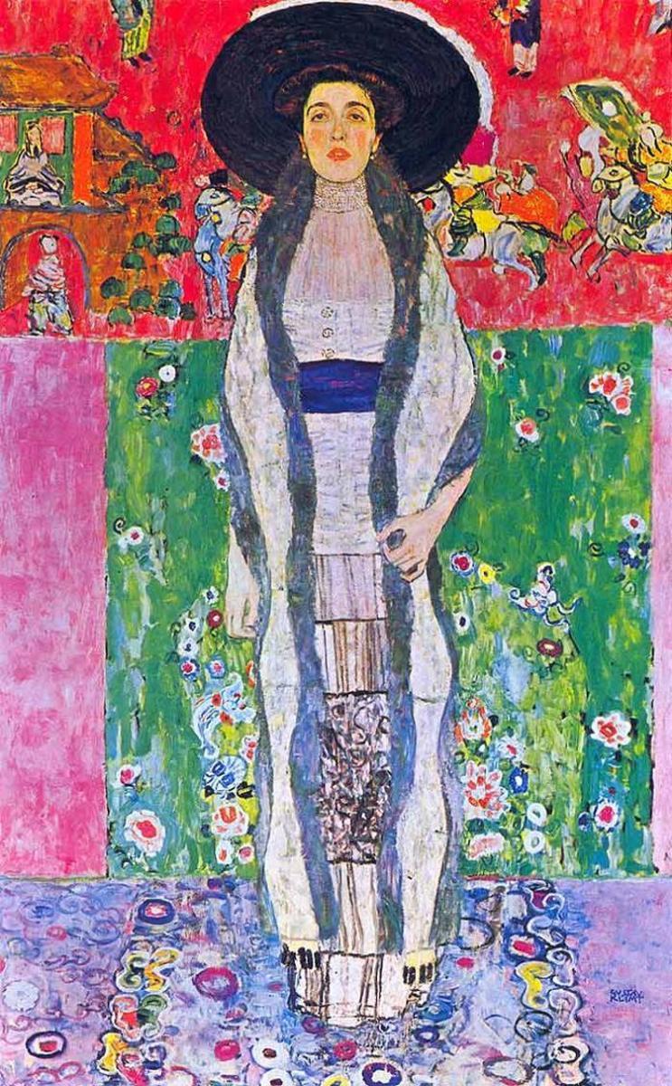 6. Gustav Klimt - Portrait of Adele Bloch-Baur II - $87,936,000