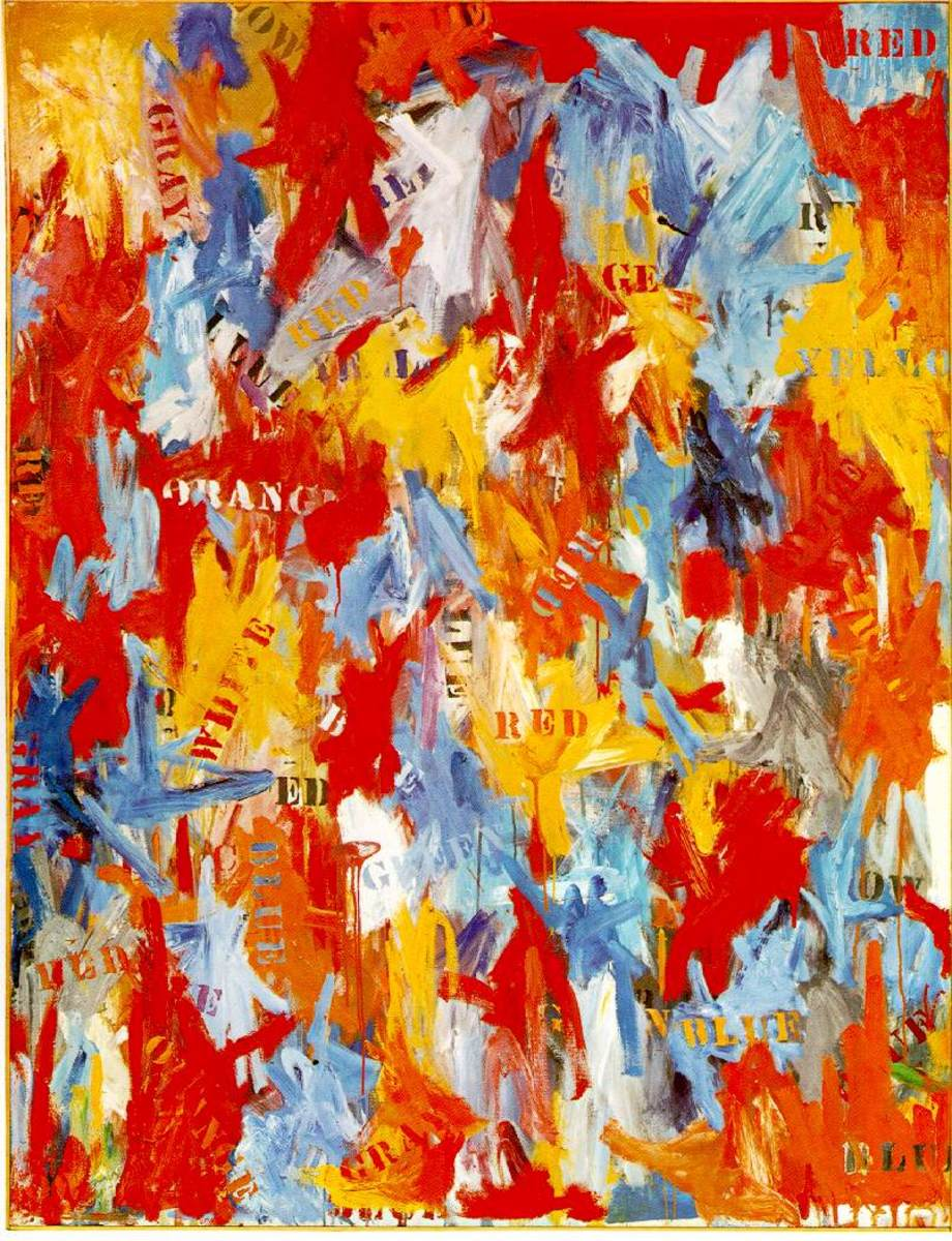 10. Jasper Johns - False Start - $80,000,000