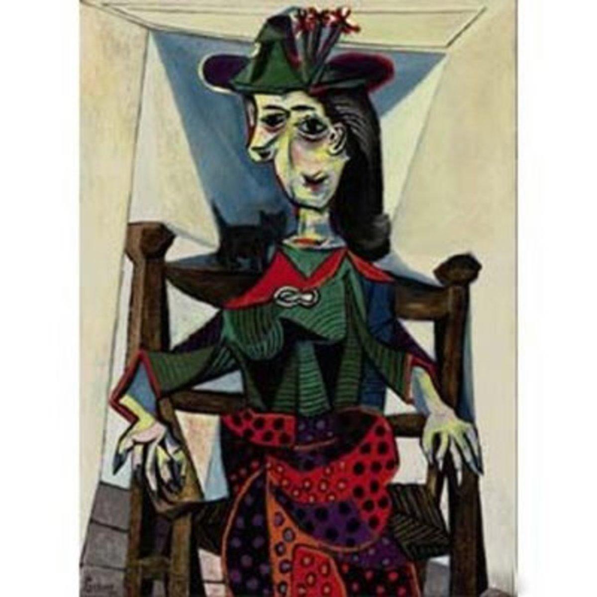 5. Pablo Picasso - Dora Maar au chat - $95,216,000