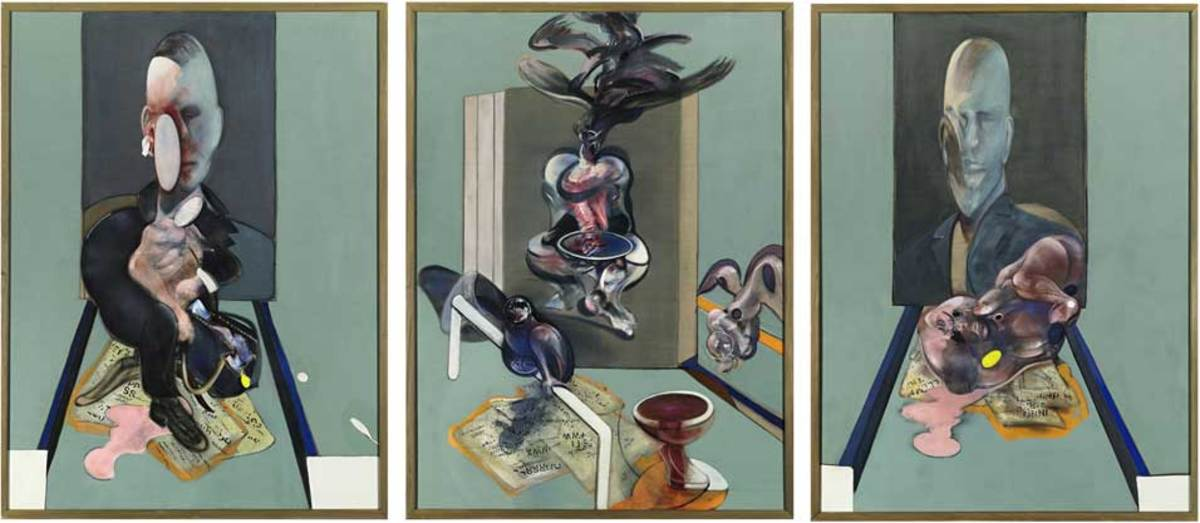 7. Francis Bacon - Triptych 1976 - $86,300,000