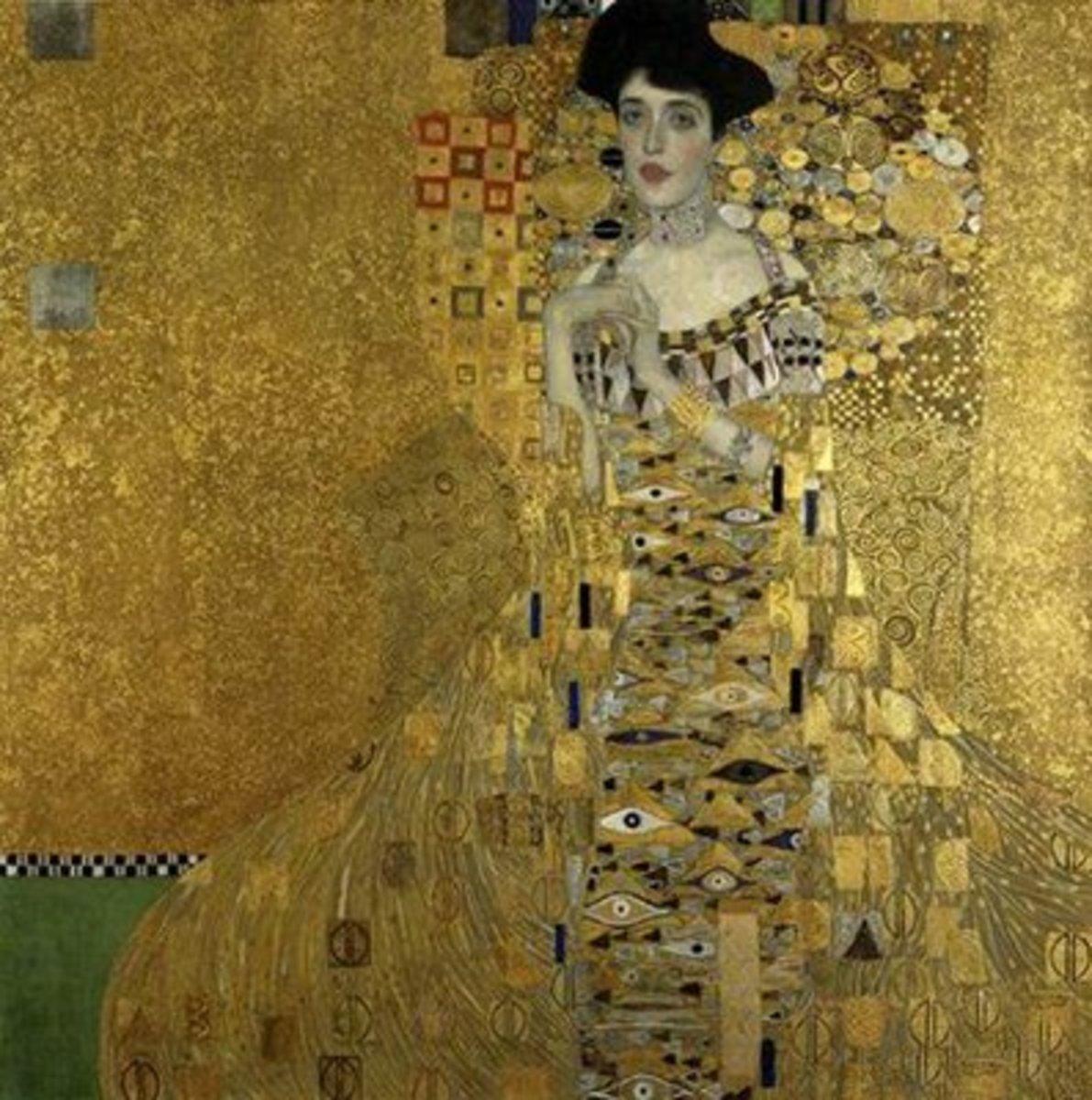 3. Gustav Klimt - Portrait of Adele Bloch-Bauer - $135,000,000