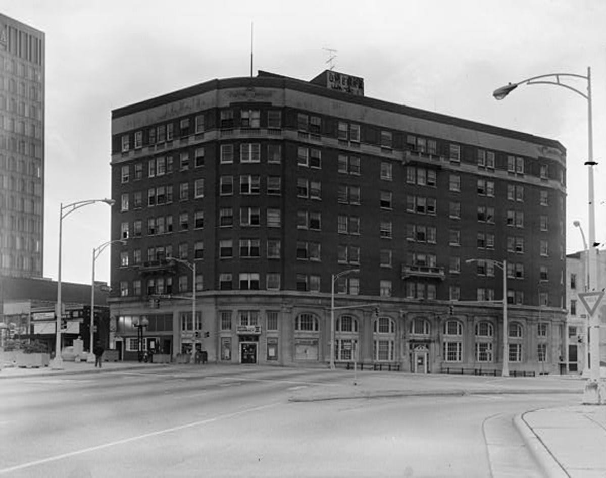 Home of the author. The old hotel was built between 1917-19 and demolished for a new version in 1979.