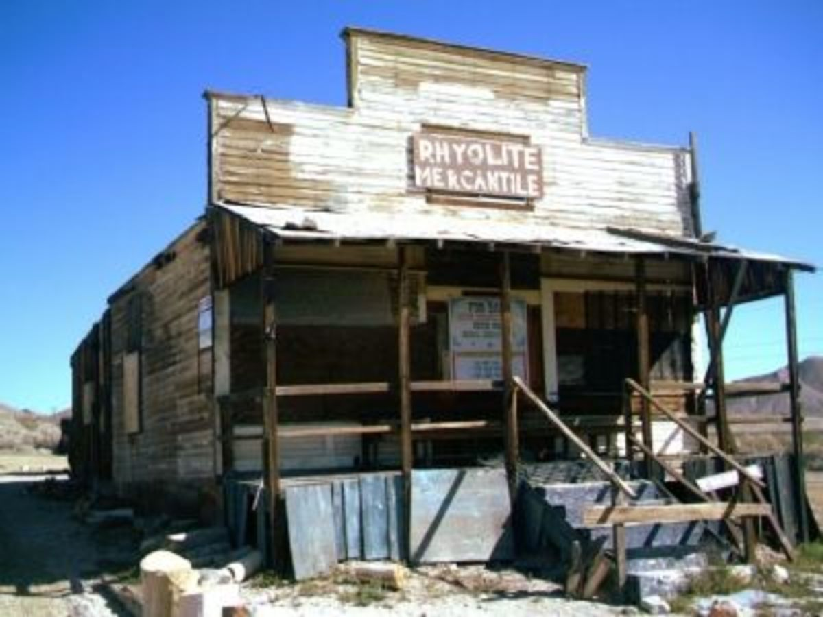 The Old Rhyolite Merchantile