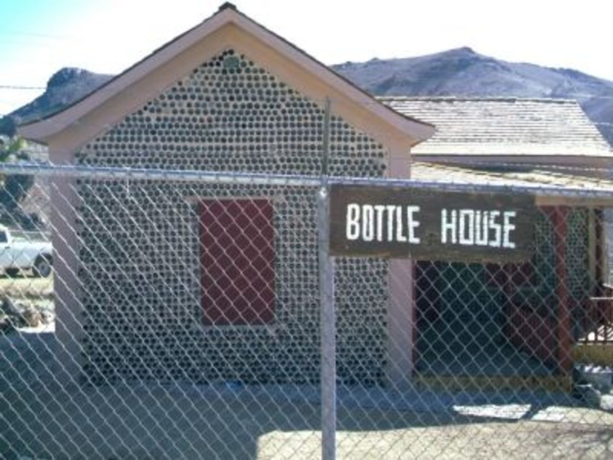 The Rhyolite Bottle House