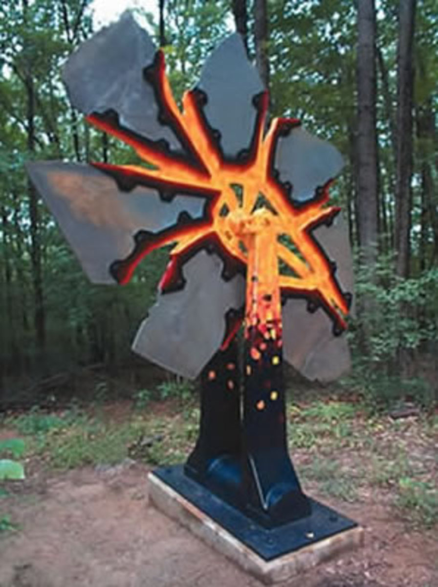8 Stunningly Creative Examples of Welding Metal Art