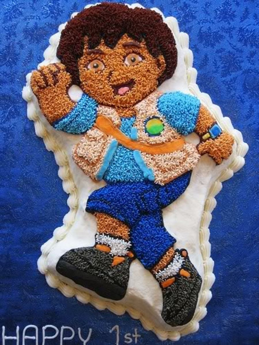 Go Diego Go Cake Pan