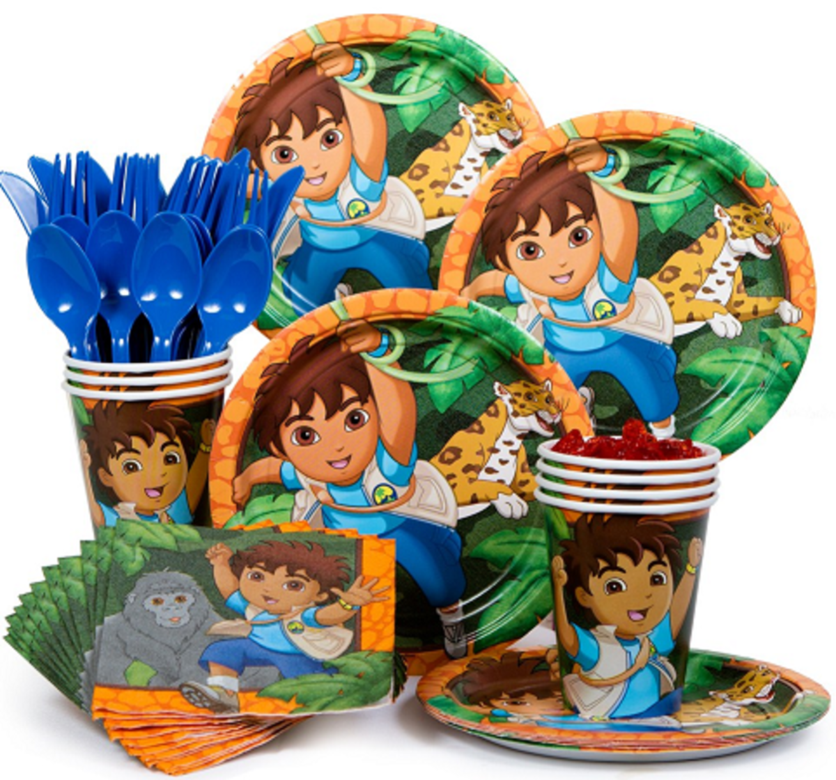 Go Diego Party Kit