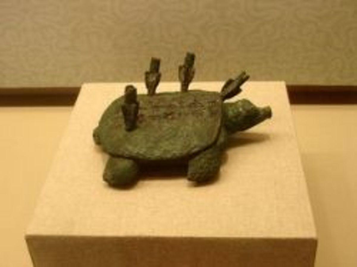 Shang Dynasty Zuoceban's Bronze Turtle (Zuoceban Tong Yuan)