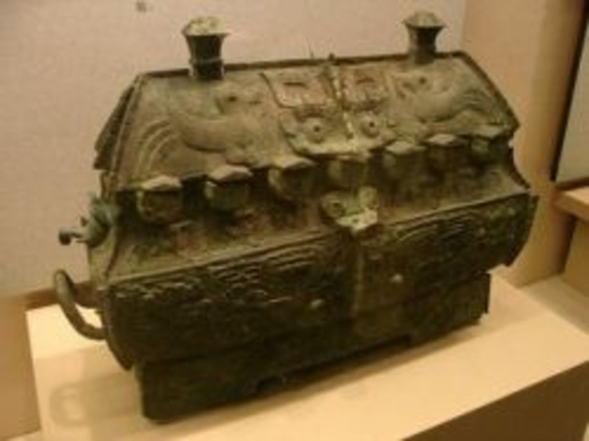 Fuhao's Bronze Square Vessel